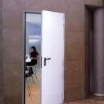 płaszczowe drzwi białe