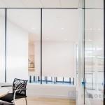 wewnętrzne szklane ścianki działowe z profili stalowych