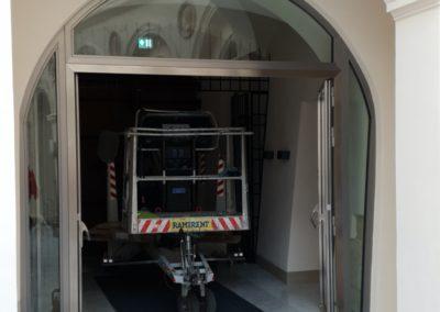 drzwi nierdzewne