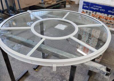 Okno okrągłe W40 produkcja